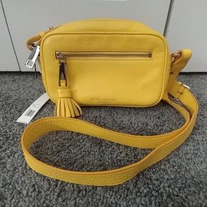 NWT! MARC JACOBS *ZOOM* BANANA CREAM CROSSBODY
